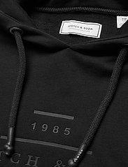 Scotch & Soda - Scotch & Soda hooded sweat - hoodies - black - 2