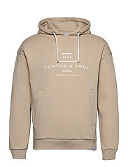 Scotch & Soda hooded sweat - NATURAL CLOTH