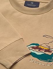 Scotch & Soda - Crew neck  sweat with aop - sweatshirts - combo a - 2
