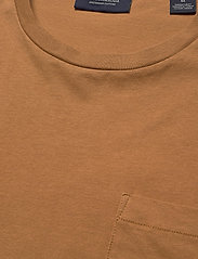 Scotch & Soda - Fabric dyed pocket tee - basic t-shirts - tobacco - 2