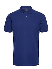 Garment dyed stretch polo - YINMIN BLUE