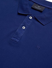 Scotch & Soda - Garment dyed stretch polo - short-sleeved polos - yinmin blue - 2