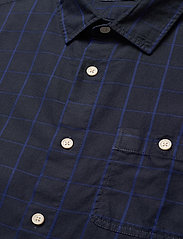 Scotch & Soda - Oxford long sleeve shirt with prints and yarn dyed stripes - checkered shirts - combo b - 3