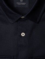Scotch & Soda - Longsleeve clean utility shirt - basic shirts - night - 2