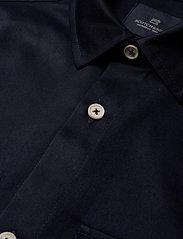 Scotch & Soda - Longsleeve clean utility shirt - basic shirts - night - 3