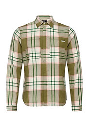 Longsleeve shirt in mid weight flannel - COMBO A
