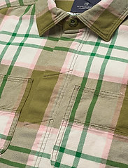 Scotch & Soda - Longsleeve shirt in mid weight flannel - checkered shirts - combo a - 3