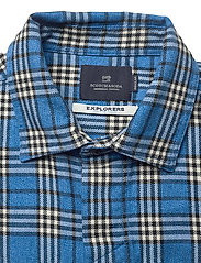 Scotch & Soda - Longsleeve shirt in mid weight flannel - checkered shirts - combo b - 2