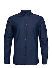 Clean denim tailor shirt - INDIGO