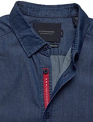 Scotch & Soda - Clean denim tailor shirt - basic shirts - indigo - 2