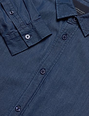 Scotch & Soda - Clean denim tailor shirt - basic shirts - indigo - 3