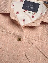 Scotch & Soda - Oversized trucker in special wool mix - wool jackets - light apricot melange - 2