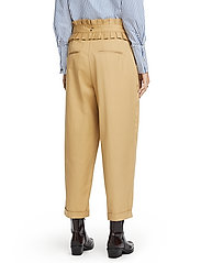 Scotch & Soda - Clean twill chino with detachable pleated belt - chinos - sand - 5