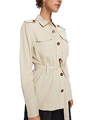 Scotch & Soda - Drapey safari shirt - vestes utilitaires - natural cloth - 4