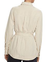 Scotch & Soda - Drapey safari shirt - vestes utilitaires - natural cloth - 5