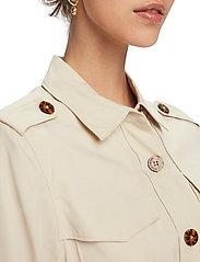 Scotch & Soda - Drapey safari shirt - vestes utilitaires - natural cloth - 6