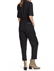 Scotch & Soda - Clean tailored all in one - jumpsuits - black - 3