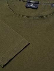 Scotch & Soda - Longsleeve tee in heavy organic cotton - basic t-shirts - military green - 2