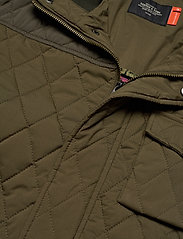 Scotch & Soda - Classic short quilted jacket - quilted jackets - military - 3