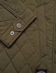 Scotch & Soda - Classic short quilted jacket - quilted jackets - military - 4