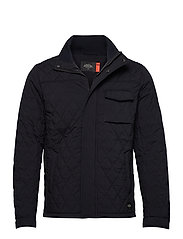 Classic short quilted jacket - NIGHT