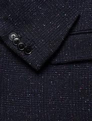 Scotch & Soda - Classic single-breasted neps wool-blend blazer - single breasted blazers - combo a - 3