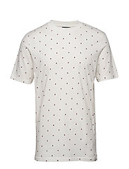 Short sleeve tee with allover print - COMBO G
