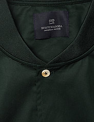 Scotch & Soda - Long sleeve shirt with bomber collar - overshirts - lagoon green - 2