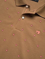 Scotch & Soda - Classic all-over printed organic cotton pique polo - poloshirts - combo e - 2
