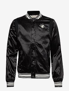 Felix Ams Blauw colab bomber jacket - BLACK