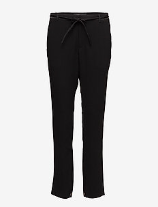 Celebration loose fitted clean pant - 8 BLACK