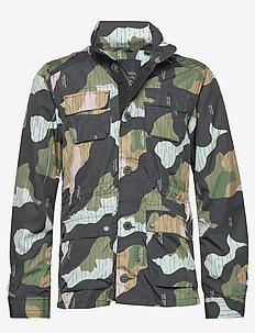 Ams Blauw 4 pocket military jacket - COMBO A