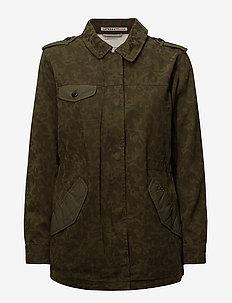 Military jacket - MILITARY GREEN