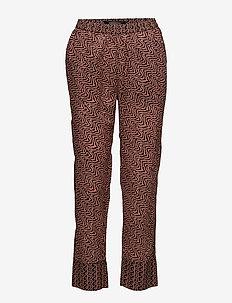 Allover printed pants - casual byxor - combo b