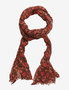 Allover printed woolen scarf - COMBO A