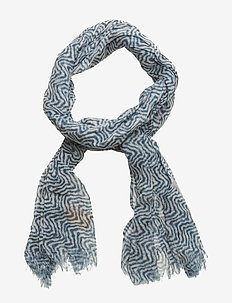 Allover printed woolen scarf - COMBO B