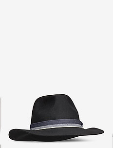 Felted fedora hat in different colors - COMBO A