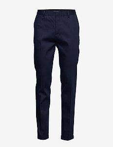 Mott - Ams Blauw slim fit stretch denim suit pant - INDIGO