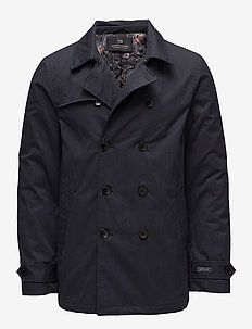 Classic double breasted trench coat - NIGHT