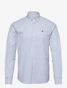NOS Oxford shirt regular fit button down collar - basic-hemden - combo a