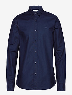NOS Oxford shirt regular fit button down collar - basic shirts - night