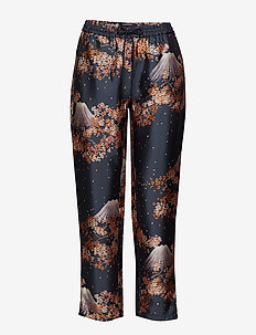 Tailored jogger pants in various dessins - COMBO M