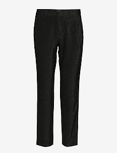 Lurex tailored pants with tape detail - COMBO B