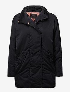 Technical cocoon jacket - dynefrakke - black