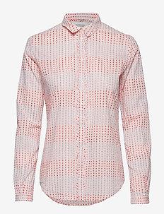 Cotton dobby shirt - COMBO C