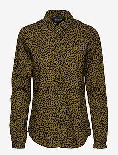 Cotton dobby shirt - COMBO D