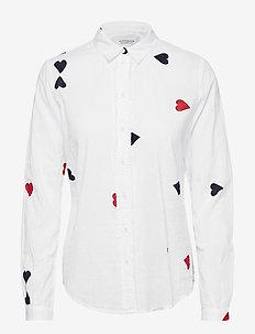 Cotton dobby shirt - COMBO E
