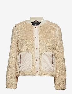 Teddy jacket - ECRU