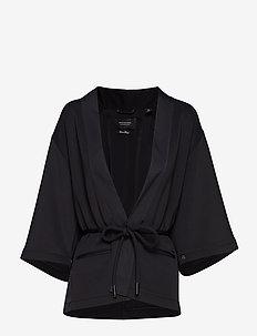 Sweat blazer - BLACK