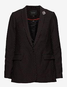 Tailored blazer in stretch jacquard - COMBO S